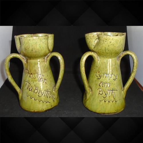 Pair of Ewenny Hyacinth Vases (1 of 15)