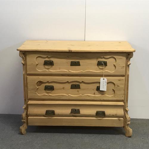 Antique German Chest of Drawers c.1910 (1 of 5)