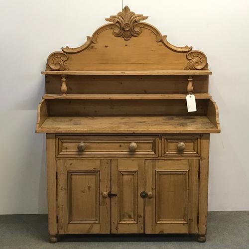 Old Victorian Yorkshire Pine Dresser (1 of 9)