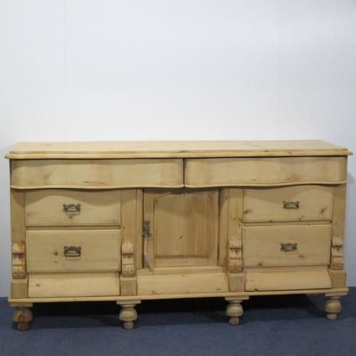 Elaborate Victorian Country Farmhouse Sideboard (1 of 1)