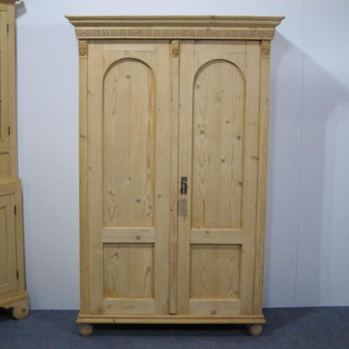 Small Antique Child's Wardrobe or Large Shelved Cupboard c.1900 (1 of 1)