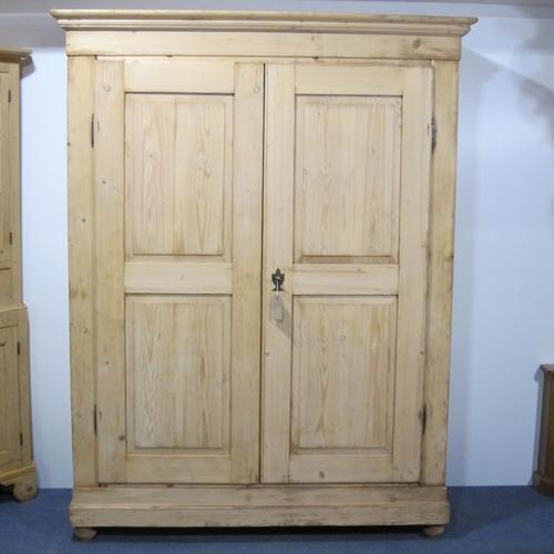 French Antique Double Wardrobe c.1900 (1 of 1)