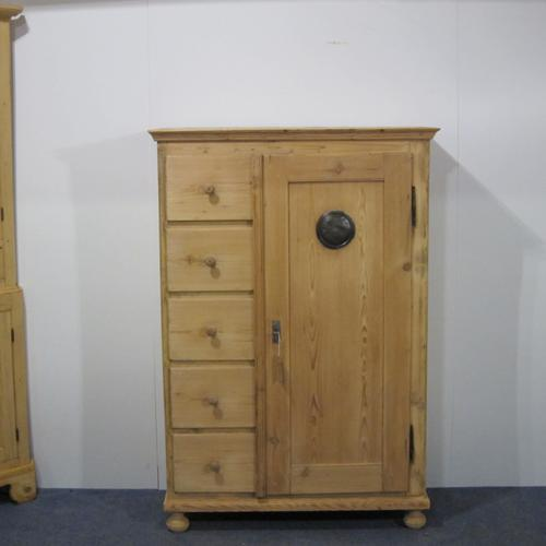 19th Century Country Kitchen Bread Cupboard c.1880 (1 of 1)