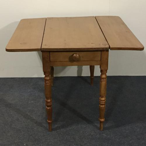 Victorian Pine Pembroke Table (1 of 1)