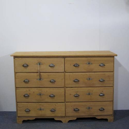 Victorian Bank of Drawers / His & Her Chest of Drawers (1 of 1)