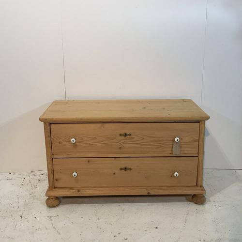 Useful Pine Storage Chest of Drawers c.1925 (1 of 1)
