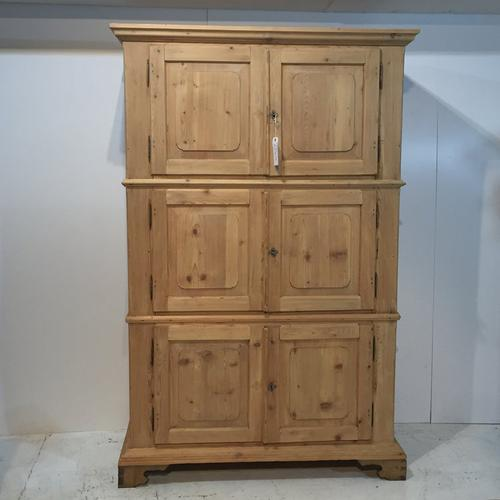 Antique Pine 19th Century Fire Chest's/Cupboard (1 of 1)