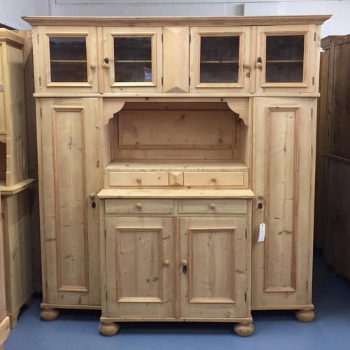 Large Pine Boot Room Storage Unit c.1930 (1 of 1)