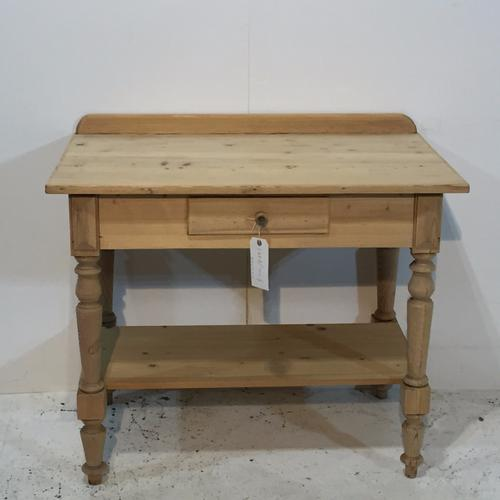 Antique Pine  Potboard Server / Washstand C.1900 (1 of 1)
