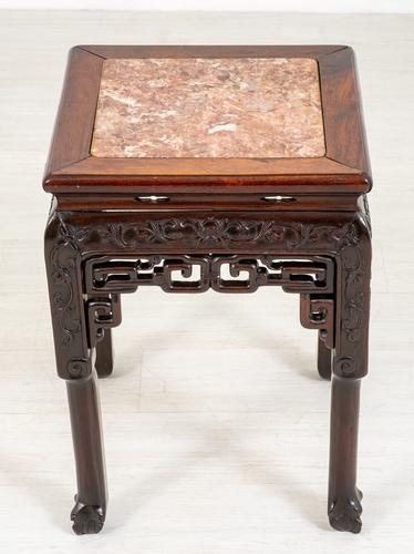Chinese Hardwood Urn Stand c.1870 (1 of 7)