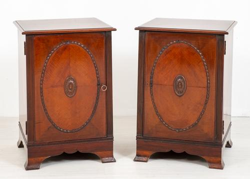 Pair of Mahogany Side Cabinets (1 of 9)