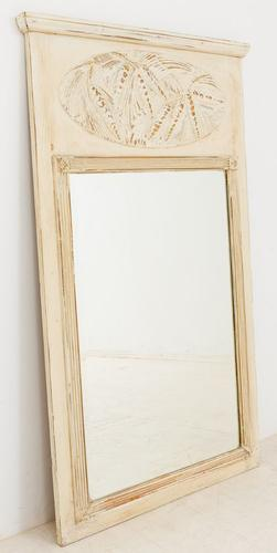 French Oak Pier Mirror c.1880 (1 of 1)