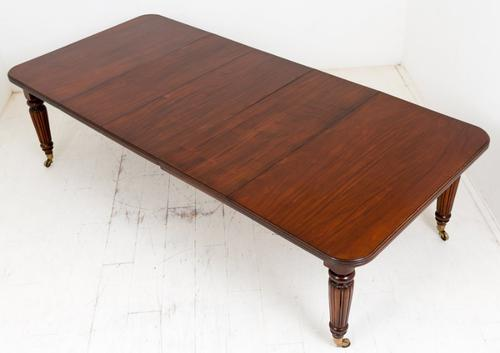 Mid Victorian Mahogany Extending Dining Table c.1860 (1 of 1)