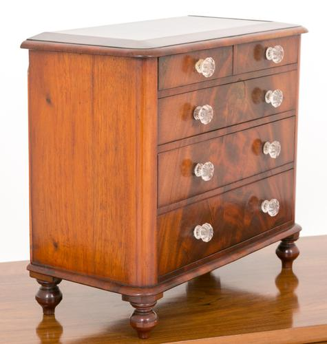 Mahogany Apprentice Chest of Drawers c.1860 (1 of 1)