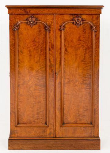 Stunning Mahogany Victorian 2 Door Cabinet (1 of 1)