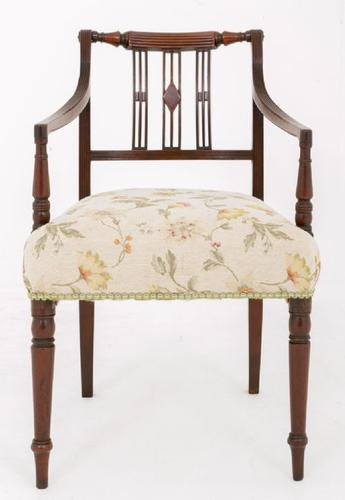 William IV Mahogany Desk Chair (1 of 1)