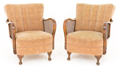 Pair of Art Deco Club Chairs (1 of 6)