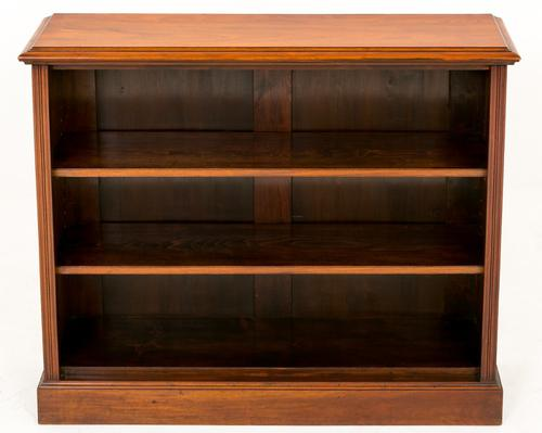 Victorian Walnut Open Bookcase (1 of 1)