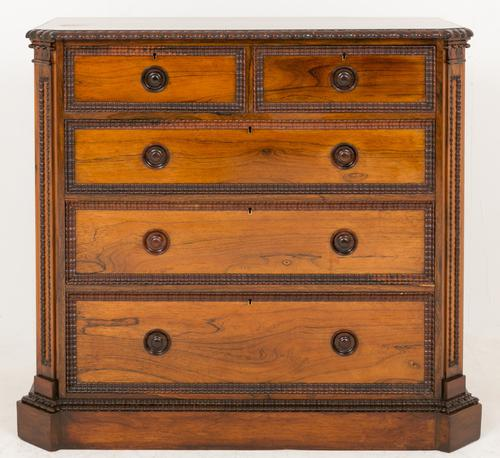 Stunning Rosewood Chest of Drawers c.1860 (1 of 1)