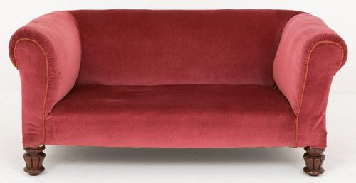 Victorian Drop End Chesterfield Settee (1 of 1)