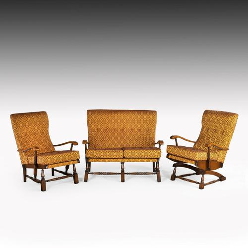 Charming Mid 20th Century Three Piece Cottage Suite (1 of 7)