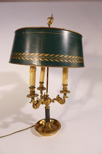 Early 20th Century French Gilt Bronze Bouillotte (1 of 6)