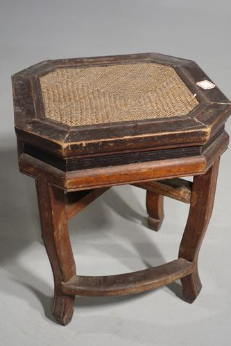 Early 20th Century Chinese Octagonal Low Table (1 of 5)