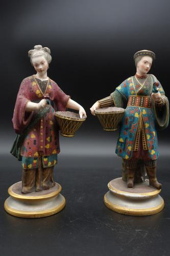 Charming Pair of Early 20th Century Meissen Figures in Oriental Garb (1 of 5)