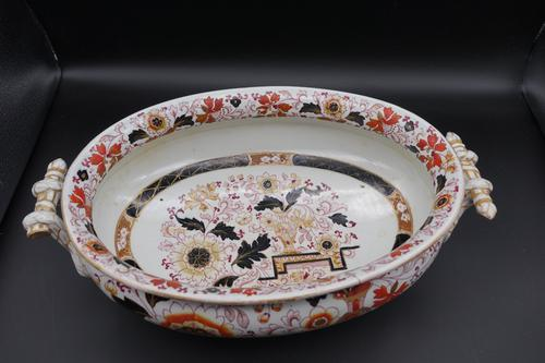 Attractive Late 19th Century Oval Tureen (1 of 8)