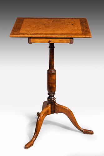 George III Period Mahogany Small Side Table (1 of 1)