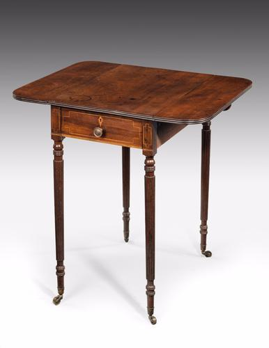 George III Period Mahogany Pembroke Table (1 of 1)