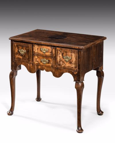 Mid 18th Century Walnut Lowboy (1 of 1)