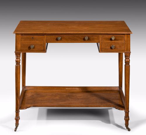 Georgian Period Mahogany Side Table (1 of 1)