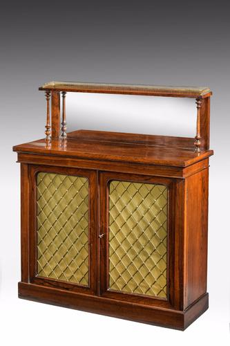 Regency Period Rosewood Chiffonier (1 of 1)