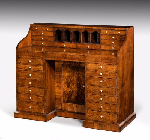 Mid 19th Century Walnut Desk (1 of 1)