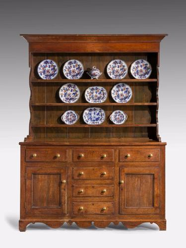 19th Century Oak Dresser & RAck (1 of 7)