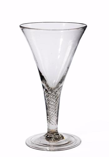 19th Century Massive Spiral Twist Goblet (1 of 1)