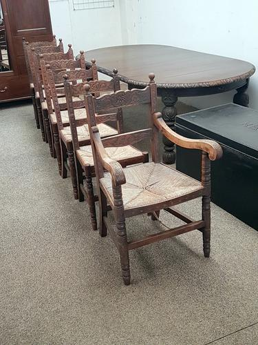 Country Dining Chairs 6+1 (1 of 6)