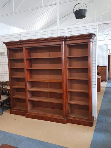 Large Victorian Bookcase (1 of 3)