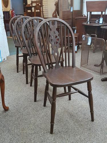 4 Country Chairs c.1920 (1 of 4)