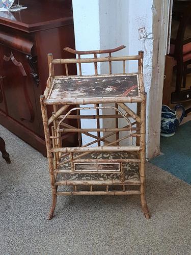 Bamboo Caterbury Whatnot c.1900 (1 of 5)