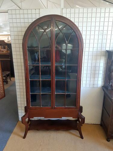 Tall Arch Top Bookcase C.1890 (1 of 5)