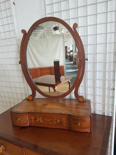 Antique Dressing Mirror c.1850 (1 of 6)