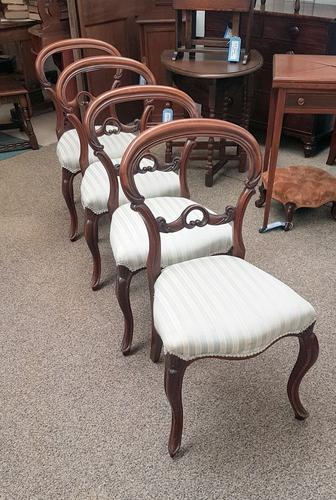 4 Balloon Back Chairs (1 of 6)