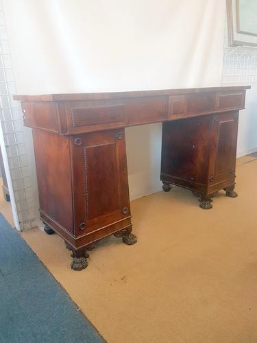 Antique Pedestal Sideboard (1 of 6)