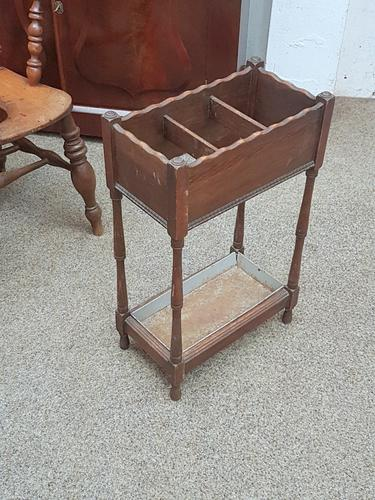 Small Stick Stand c.1900 (1 of 4)