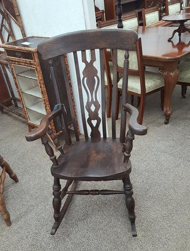 Antique Country Rocking Chair (1 of 3)