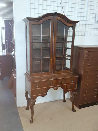 Walnut Cabinet c.1930 (1 of 5)