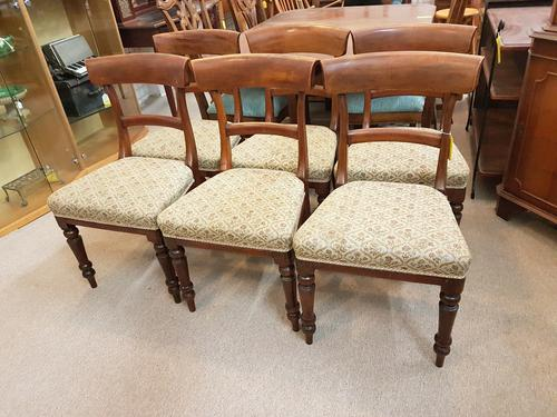 6 Dining Chairs c.1860 (1 of 3)