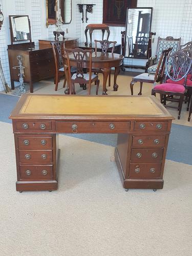 Antique Pedestal Desk (1 of 5)
